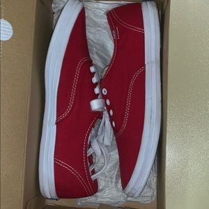 Red keds tennis shoes